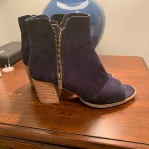Marc Fisher Peep Toe Booties